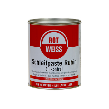 ROTWEISS proweiss abrasive paste (750ml)