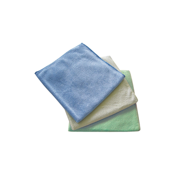 MP Microfasertuch microfibre cloth Aqua yellow 40x40cm (1pcs.)
