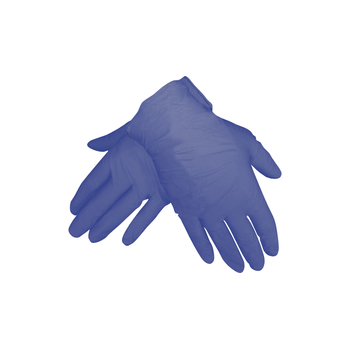 MP Latexhandschuhe blau M (50 Stk)